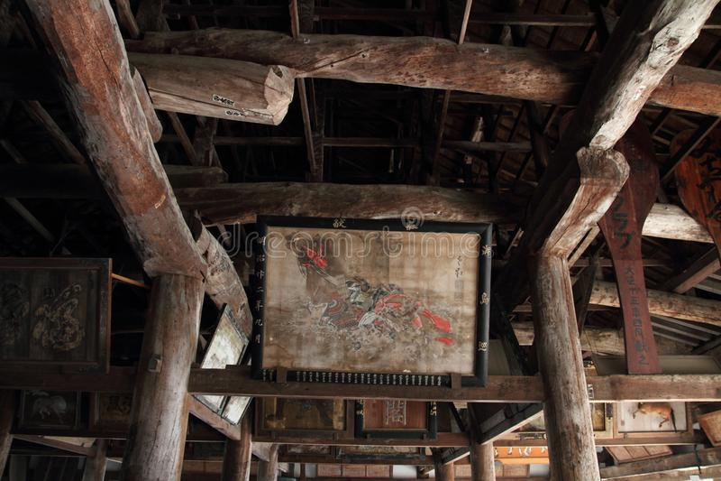 Santuario di Toyokuni a Miyajima fotografia stock libera da diritti