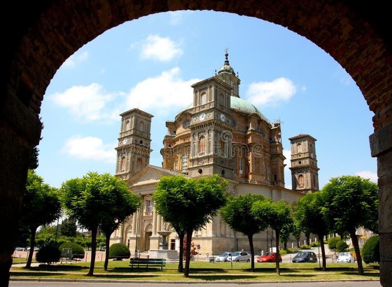 Santuario di Vicoforte, Italy royalty free stock photos