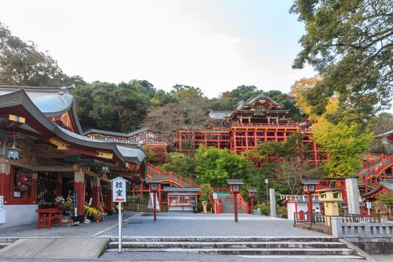 Santuario di Yutoku Inari-jinja, Giappone fotografie stock libere da diritti