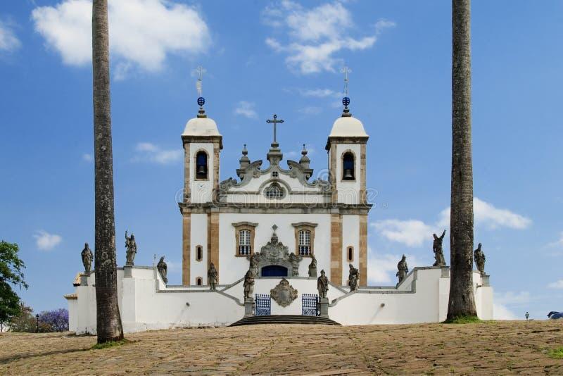 Santuario faz Senhor Bom Jesus de Matosinhos imagens de stock
