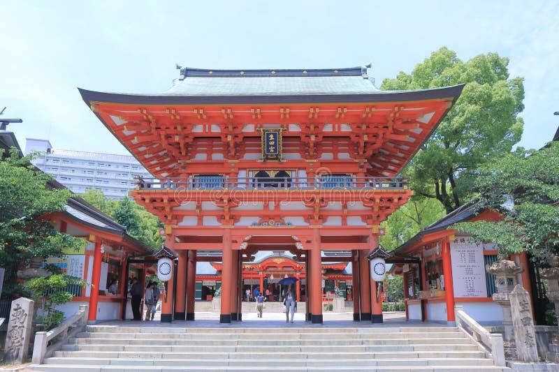 Santuario Kobe di Ikuta fotografia stock