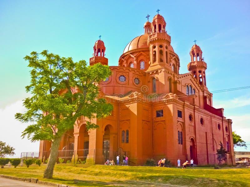 Santuario Nacional Del Cerrito de losu angeles Wiktoria kościół zdjęcia stock