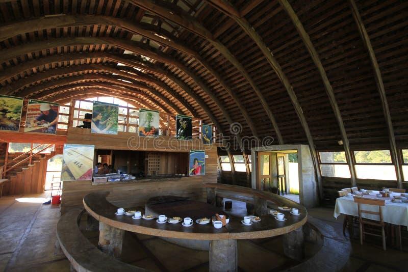 Santuario Naturaleza, Valdivia Suramérica fotos de archivo