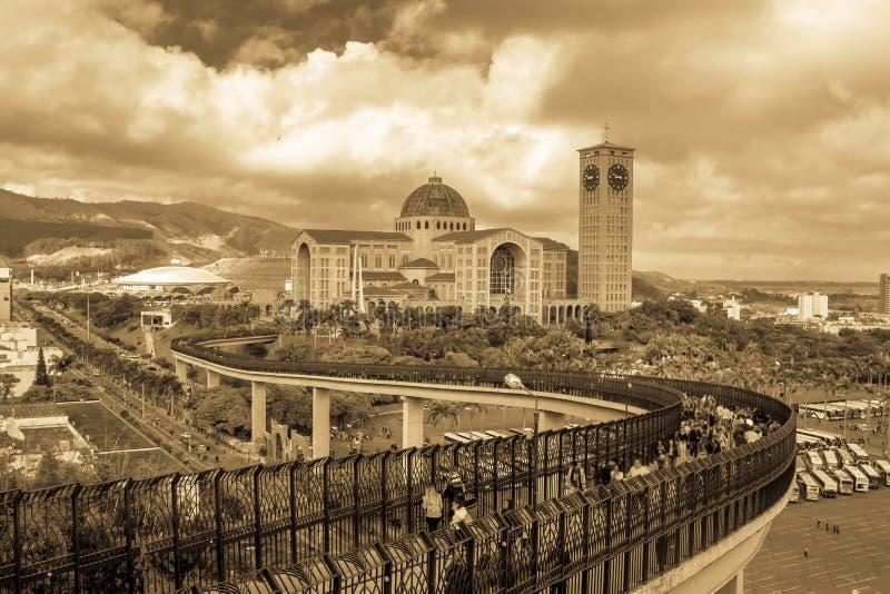 Santuario nazionale della nostra signora Aparecida fotografie stock