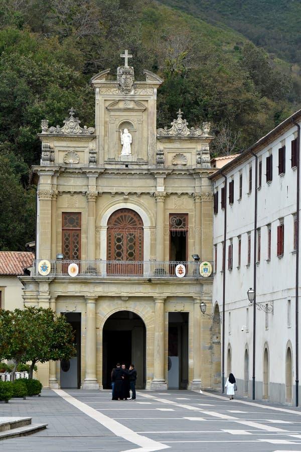 Santuario San Francesco di Paola, Calabria, Italia meridional imagen de archivo