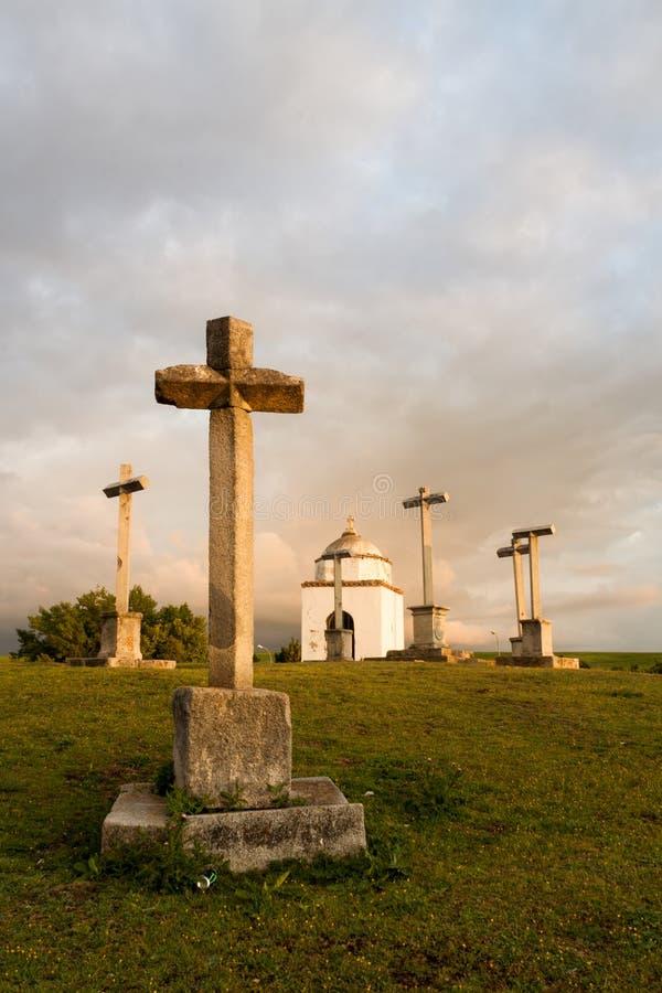 Download Santuario A Segovia La Castiglia Y Leon, Spagna Immagine Editoriale - Immagine di drammatico, esterno: 117977670