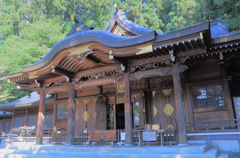 Santuario Takyama del giapponese fotografia stock libera da diritti