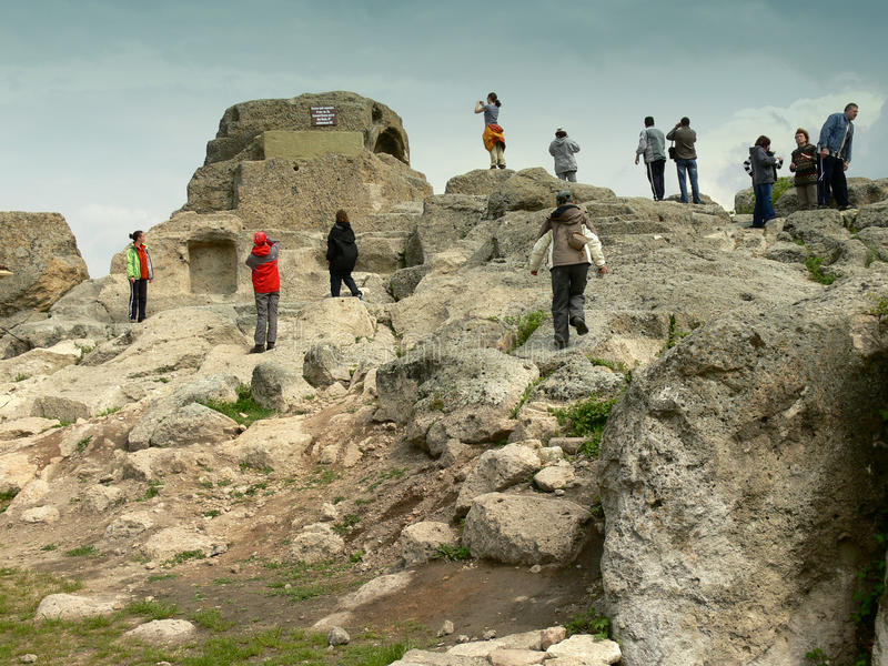 Santuario Tatul, Bulgaria immagini stock