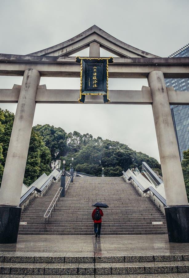 Santuario a Tokyo fotografie stock libere da diritti