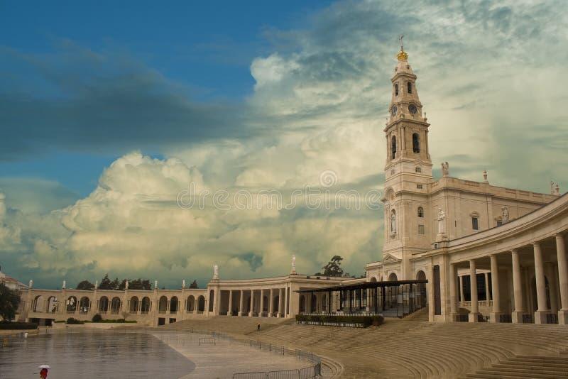 Santuary van Fatima stock afbeelding
