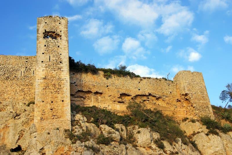 Santueri Castle royalty free stock photography