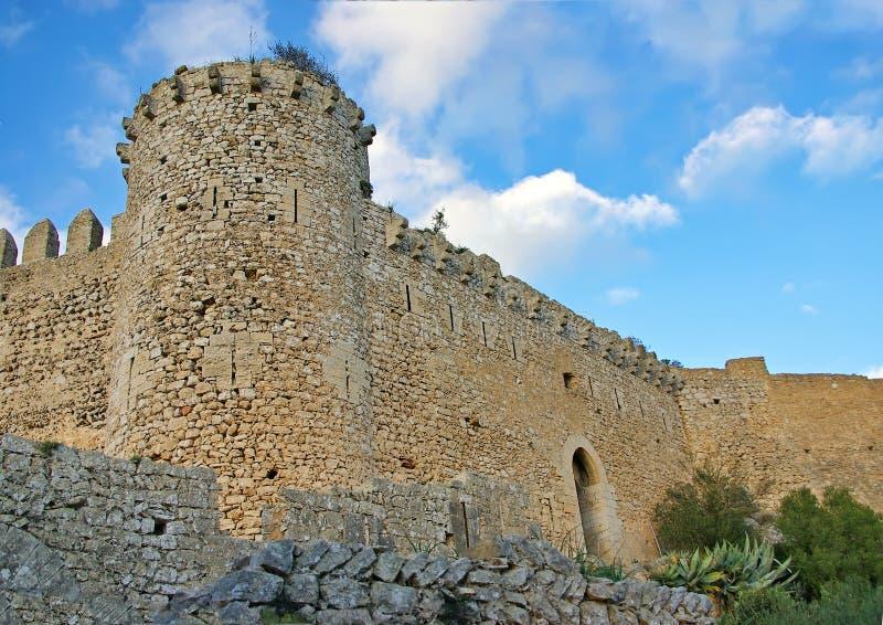 Santueri Castle royalty free stock images