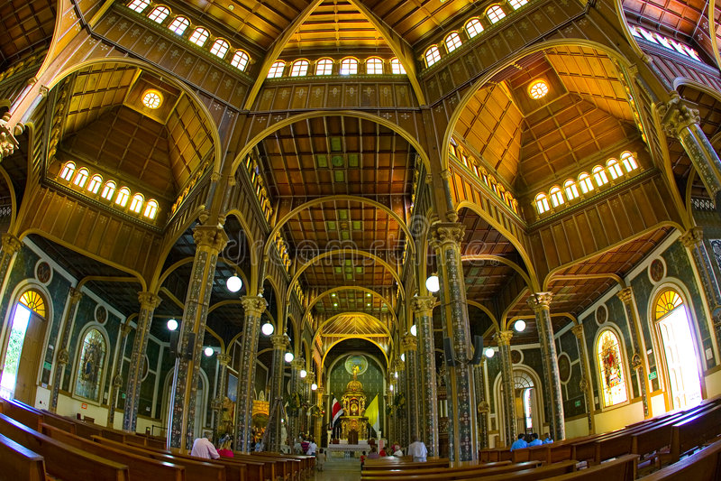 Santurio Nacional em Cartago, Costa-Rica imagem de stock royalty free