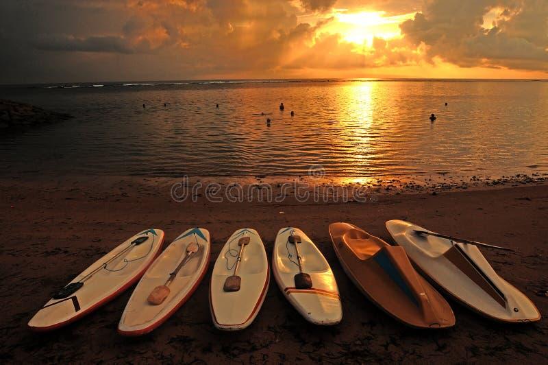 Sanur beach stock photos