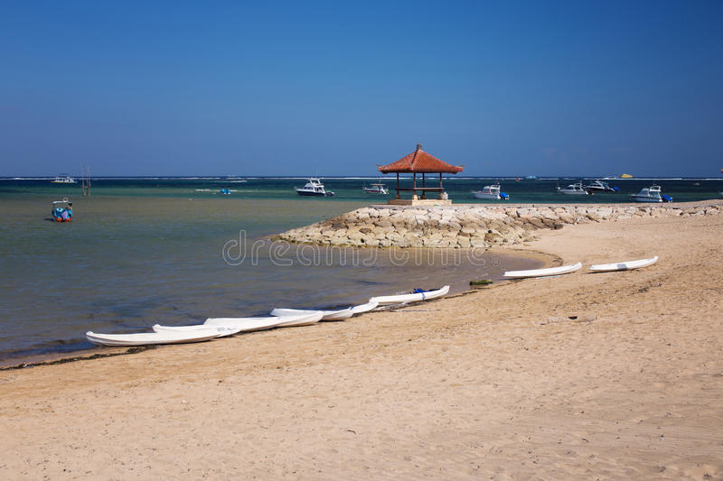 Sanur beach royalty free stock images