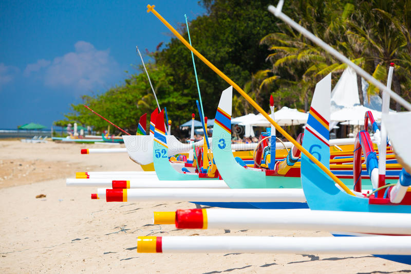 Sanur Beach Scene stock photos