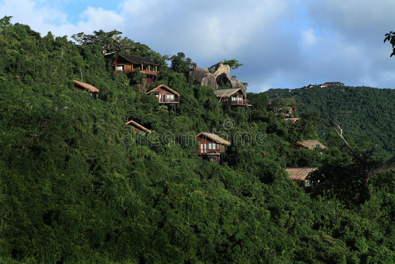 Sanya, le paradis tropical Forest Park image stock