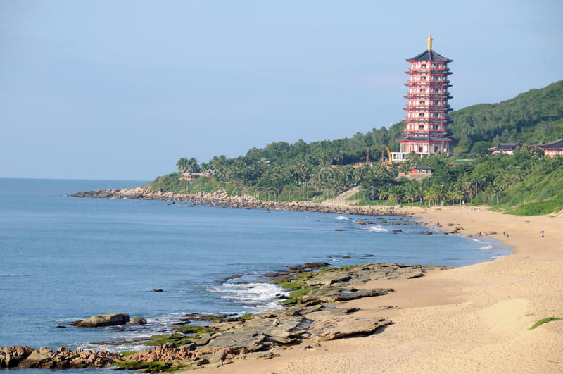 Download Sanya Nanshan Cultural Tourism Zone Stock Image - Image: 26573849