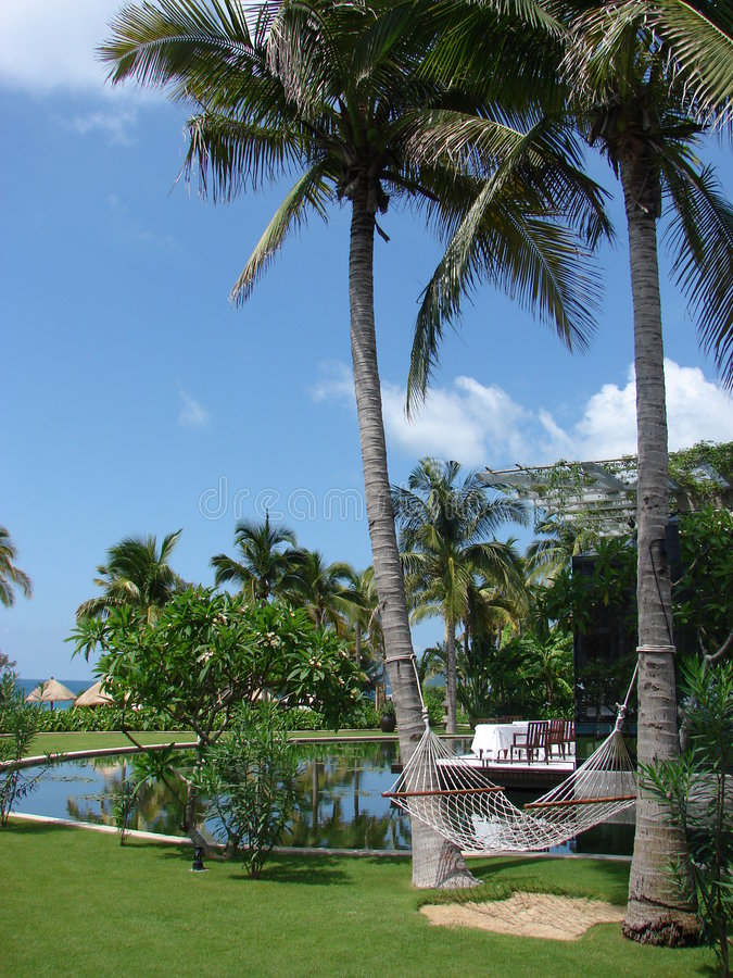 Sanya resort5 imagem de stock royalty free