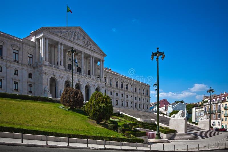 Sao Bento Palast (portugiesisches Parlament) lizenzfreie stockfotos