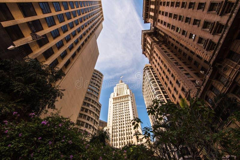 Sao célèbre Paulo Skyscraper images libres de droits