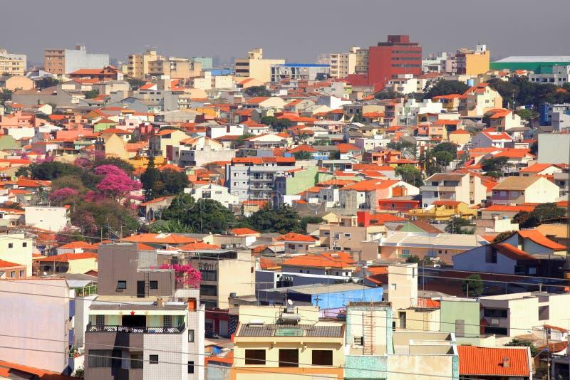 Sao Caetano do sul. Residential buildings in Sao Caetano do sul stock photos