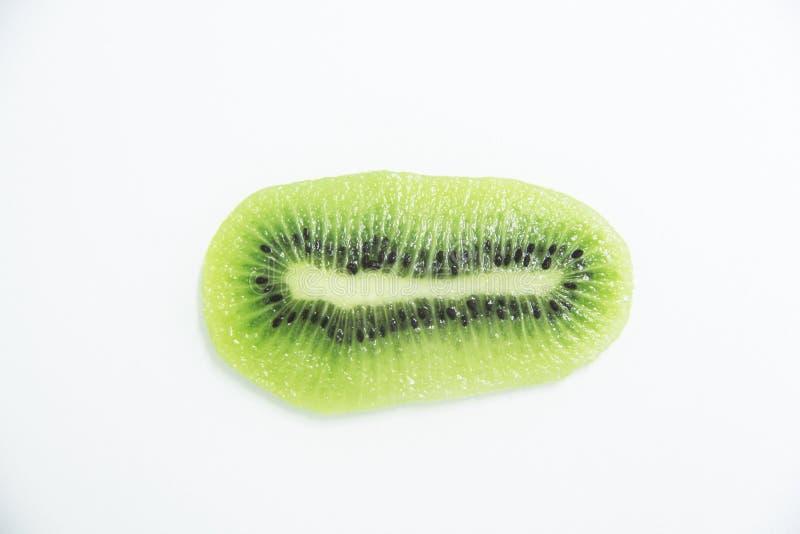 Sao cutted saludable delicioso Paulo Brazil de la fruta de la vitamina de la agricultura de la comida del kiwi fotografía de archivo