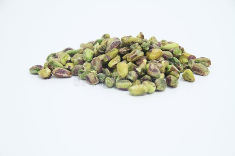 Sao delicioso Paulo Brazil del detalle del verde de la agricultura del grano alimenticio de los pistachos fotos de archivo libres de regalías