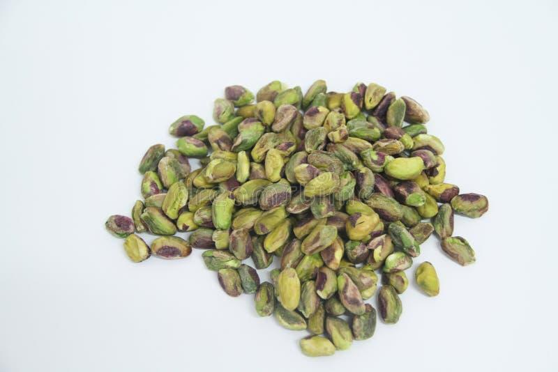 Sao delicioso Paulo Brazil del detalle del verde de la agricultura del grano alimenticio de los pistachos fotografía de archivo libre de regalías