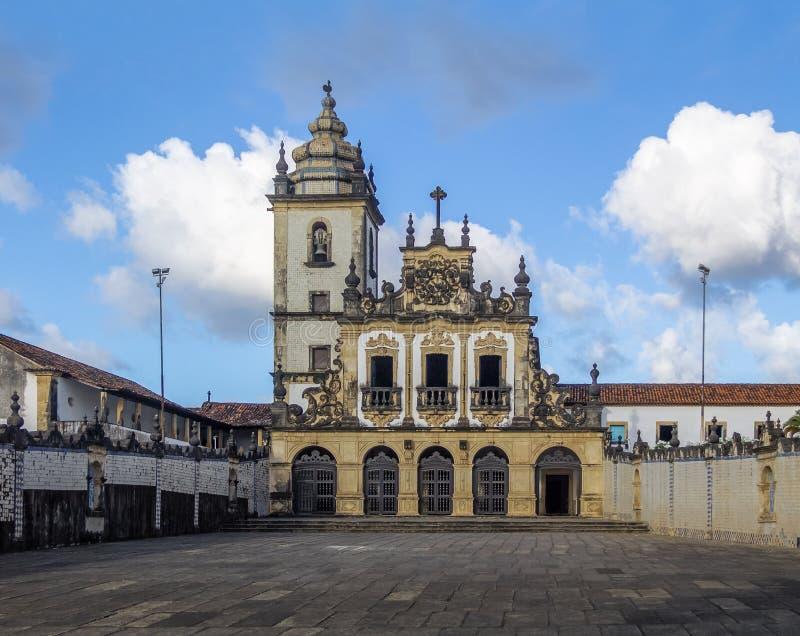 Sao Francisco Church - Joao Pessoa, Paraiba, Brazil. Sao Francisco Church in Joao Pessoa, Paraiba, Brazil stock image