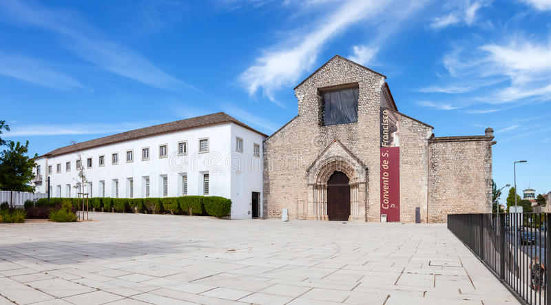 Sao Francisco Convent in the city of Santarem. Portugal. 13th century Mendicant Gothic Architecture. Franciscan Religious Order royalty free stock photos