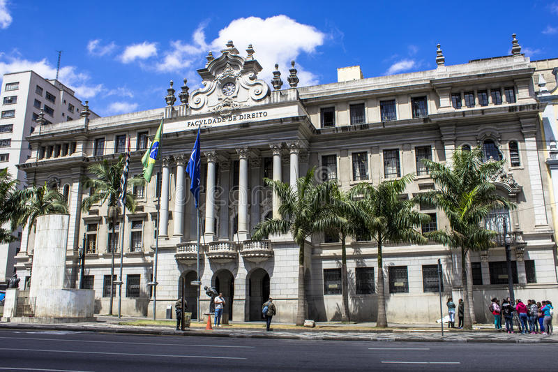 Sao Francisco law school royalty free stock photography