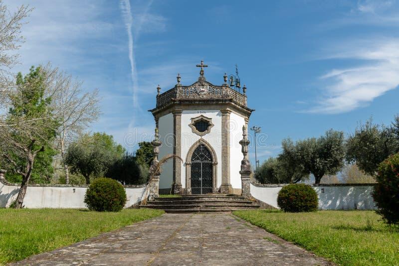 Sao Joao Chapel. In Ponte de Lima, Portugal stock photo