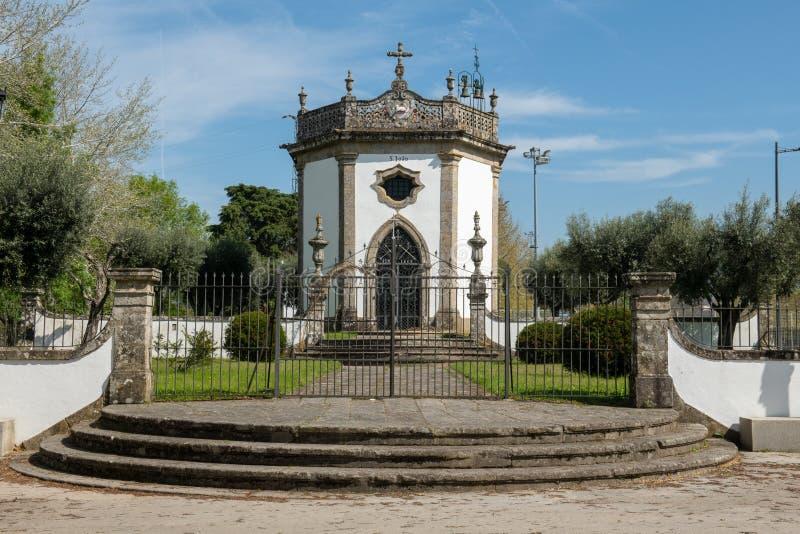 Sao Joao Chapel. In Ponte de Lima, Portugal stock photography