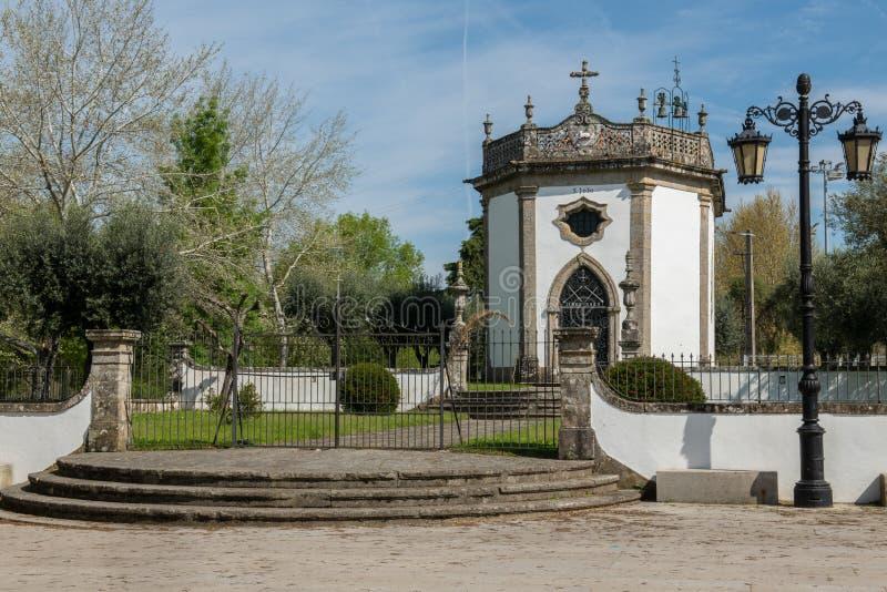 Sao Joao Chapel. In Ponte de Lima, Portugal stock image