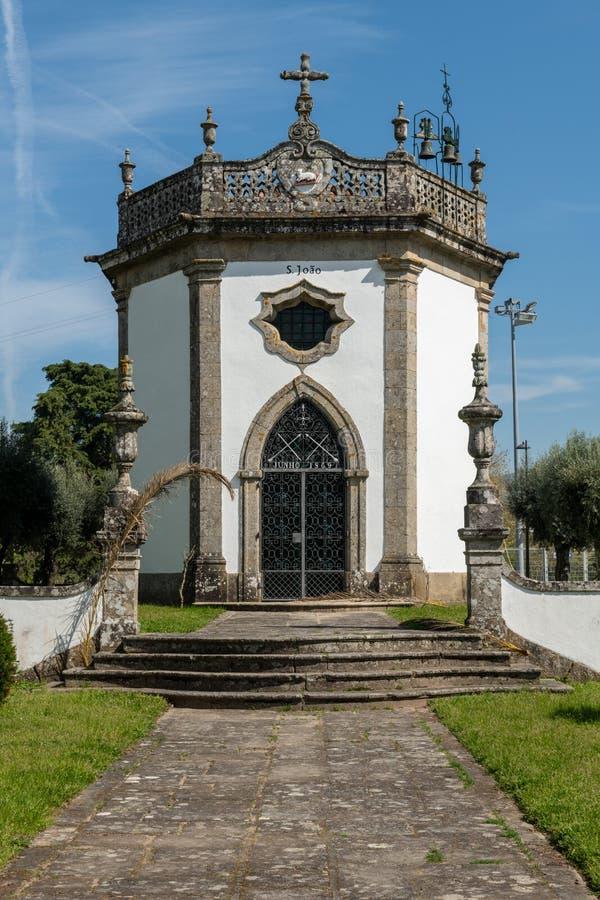 Sao Joao Chapel. In Ponte de Lima, Portugal royalty free stock photo