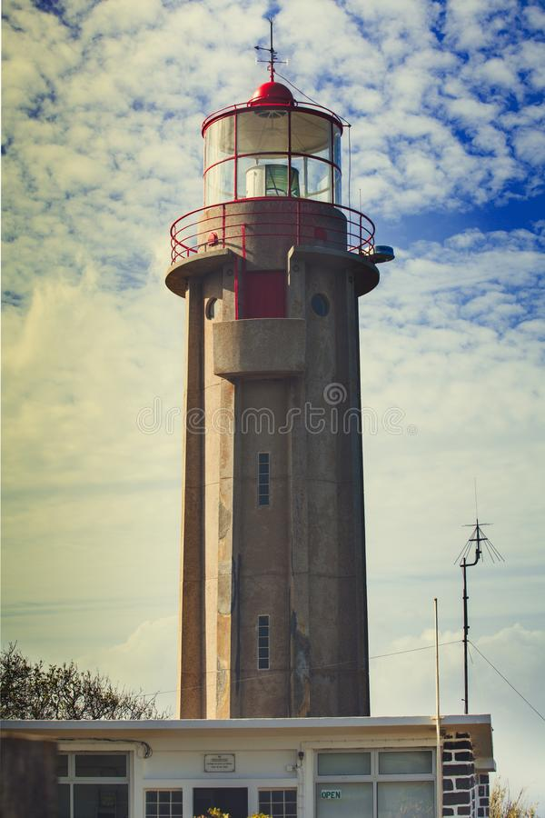 Sao Jorge Lighthouse imagen de archivo
