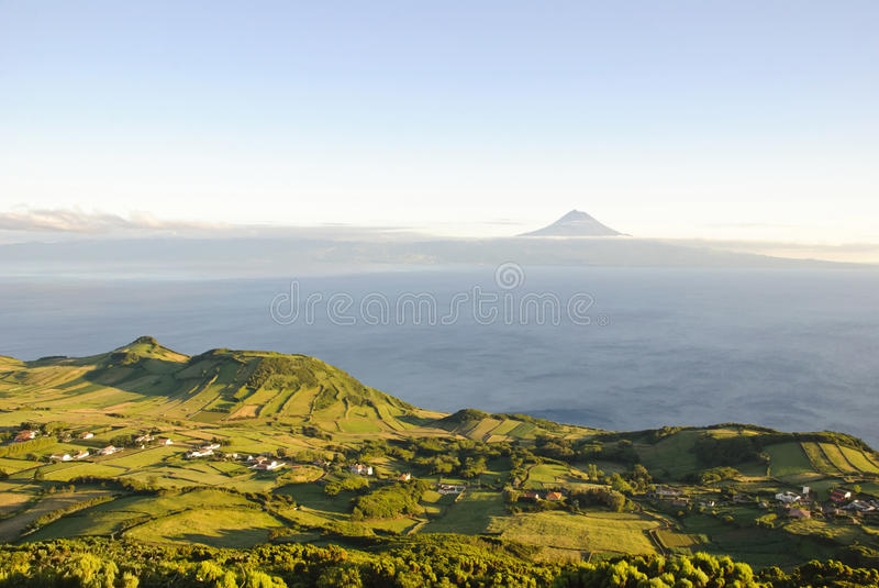 Download Sao Jorge With Pico, Azores Stock Photo - Image: 26444148