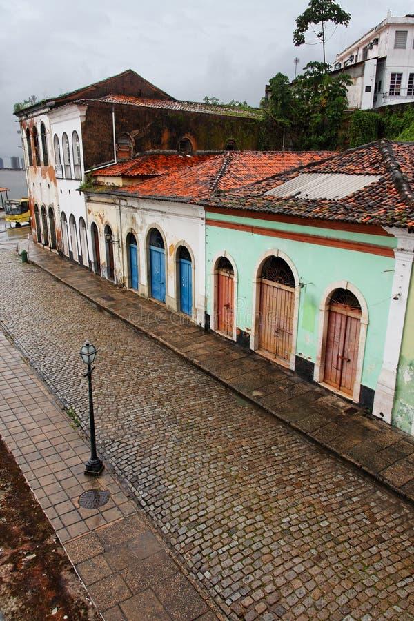 Sao Luis do Maranhao Brazil royalty free stock photos