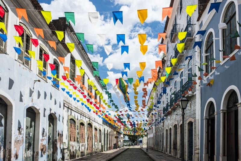 Sao Luis, estado de Maranhao, Brasil fotografia de stock