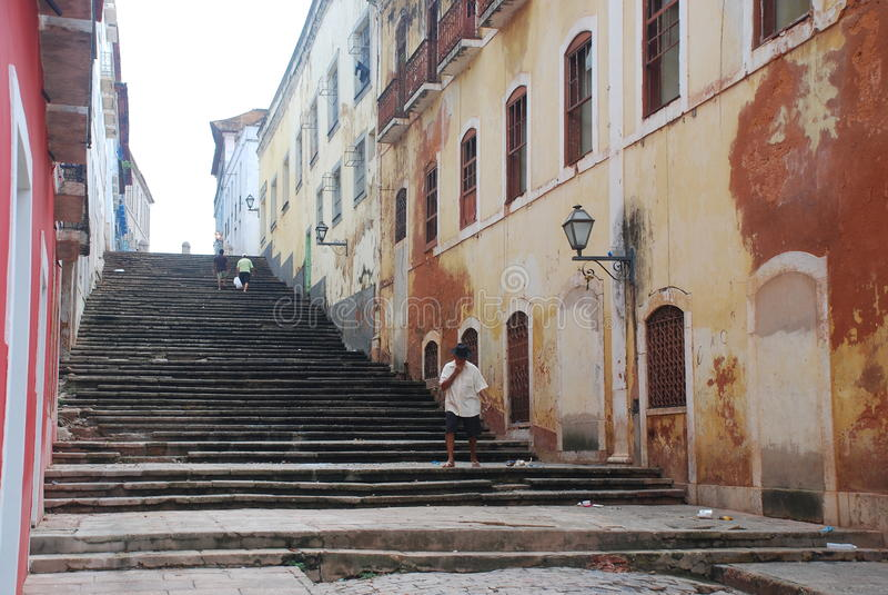 Sao Luis. Maranhao Brasilien royaltyfria bilder