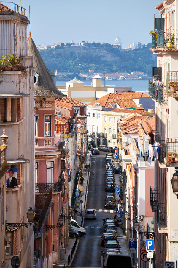 Sao Marcal, Lisboa de Rua portugal fotografía de archivo libre de regalías