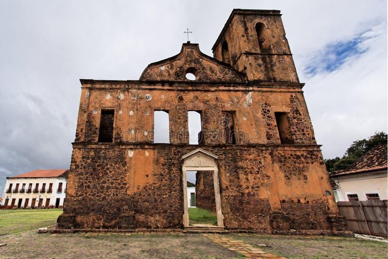 Sao Matias Church Alcantara stock photos