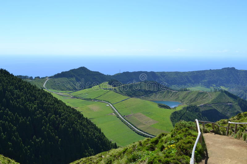 Sao Miguel, Azores, Portugal stock photo