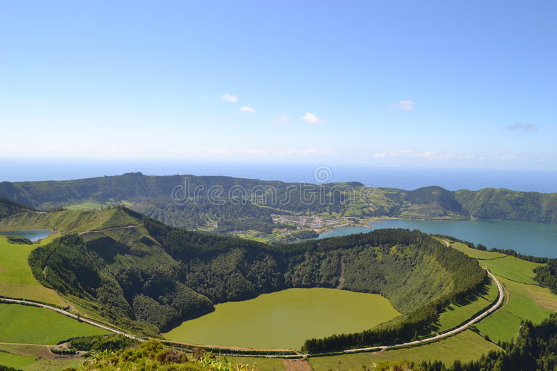 Sao Miguel, Azores, Portugal royalty free stock images