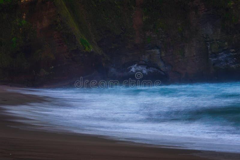 Sao Miguel coastline stock photo