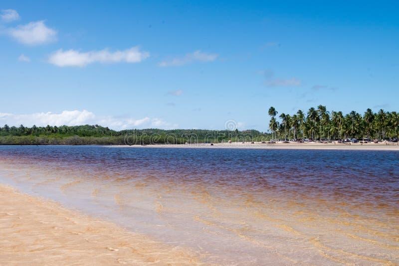 Sao Miguel dos Milagres, Alagoas -, Brazylia fotografia royalty free