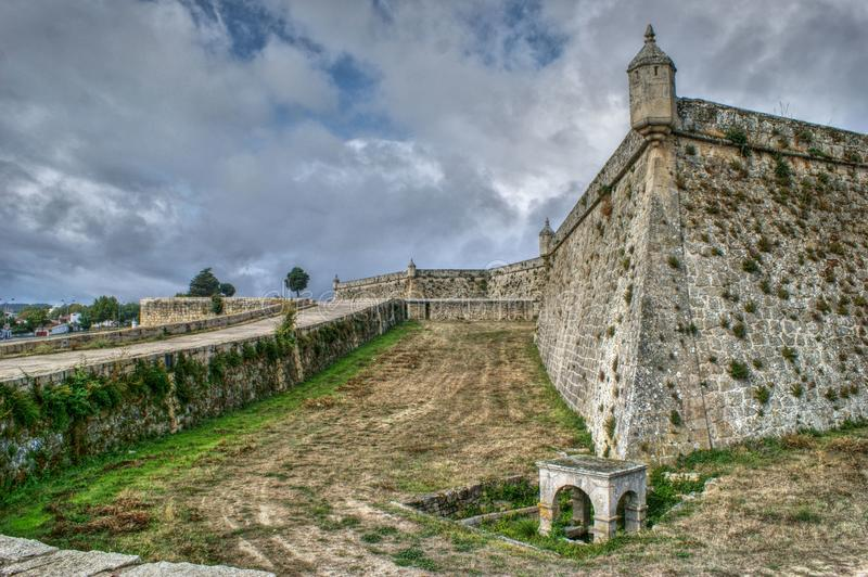 Sao Neutel Fortress in Chaves. North of Portugal royalty free stock photos