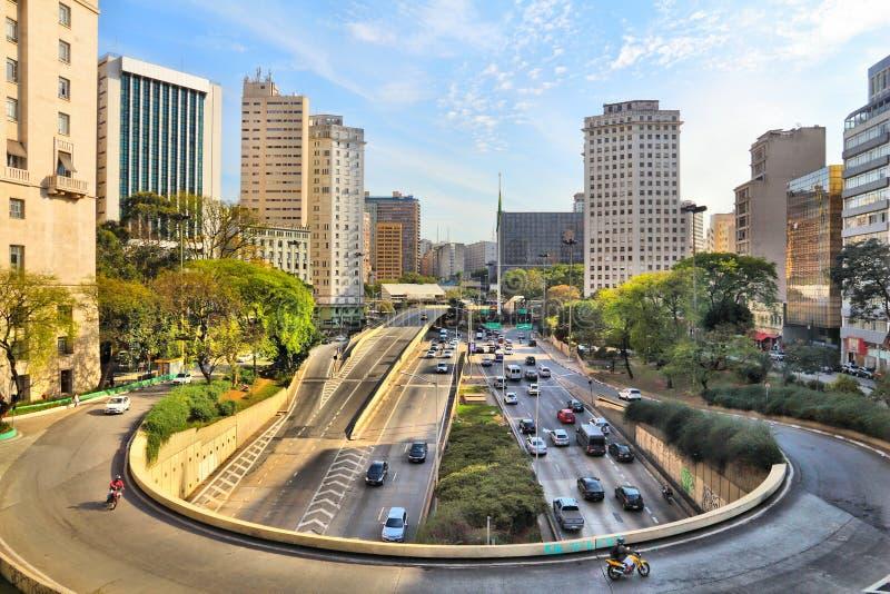 Sao Paulo fotografia de stock