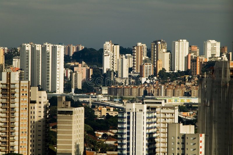 Sao Paulo foto de stock